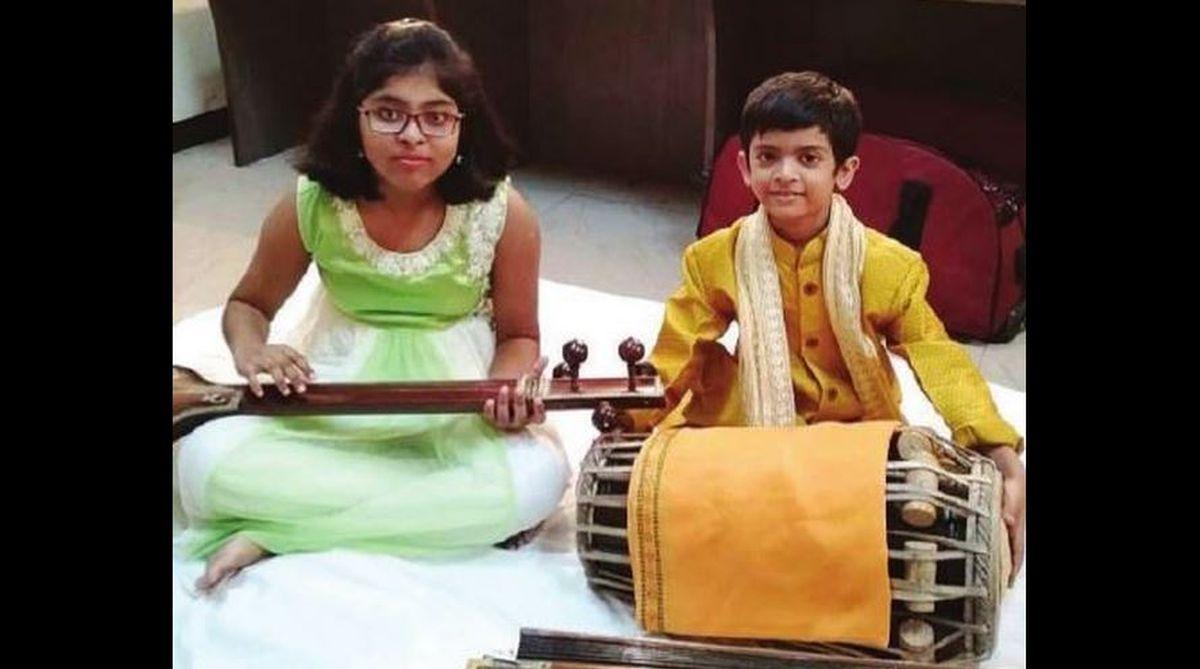Arijit Banerjee, Pakhawaj, musician, Classical Artist Forum, Pathbhavan School,Keya Banerjee,International Dhrupad Festival, classical music