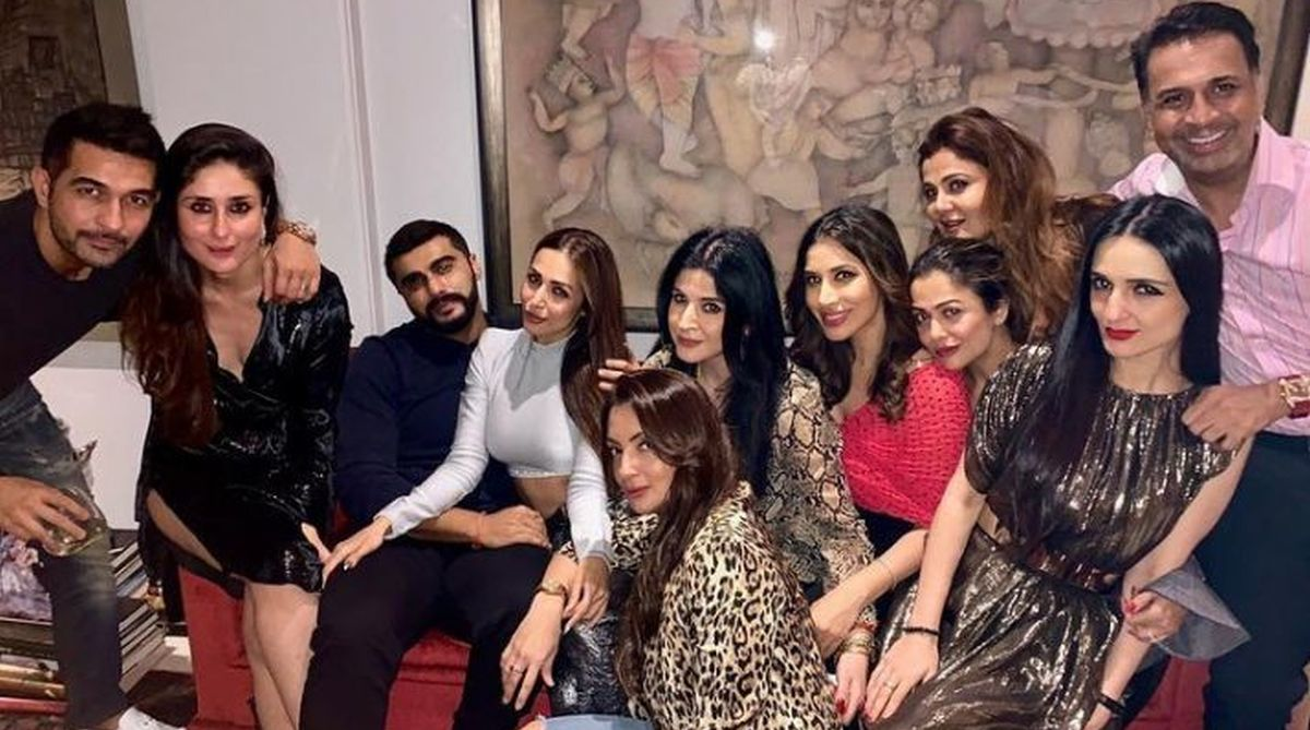 Arjun Kapoor, Malaika Arora, Maheep Kapoor, Kareena Kapoor Khan, Amrita Arora