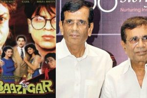 Baazigar was shot with two endings, reveal Abbas-Mustan