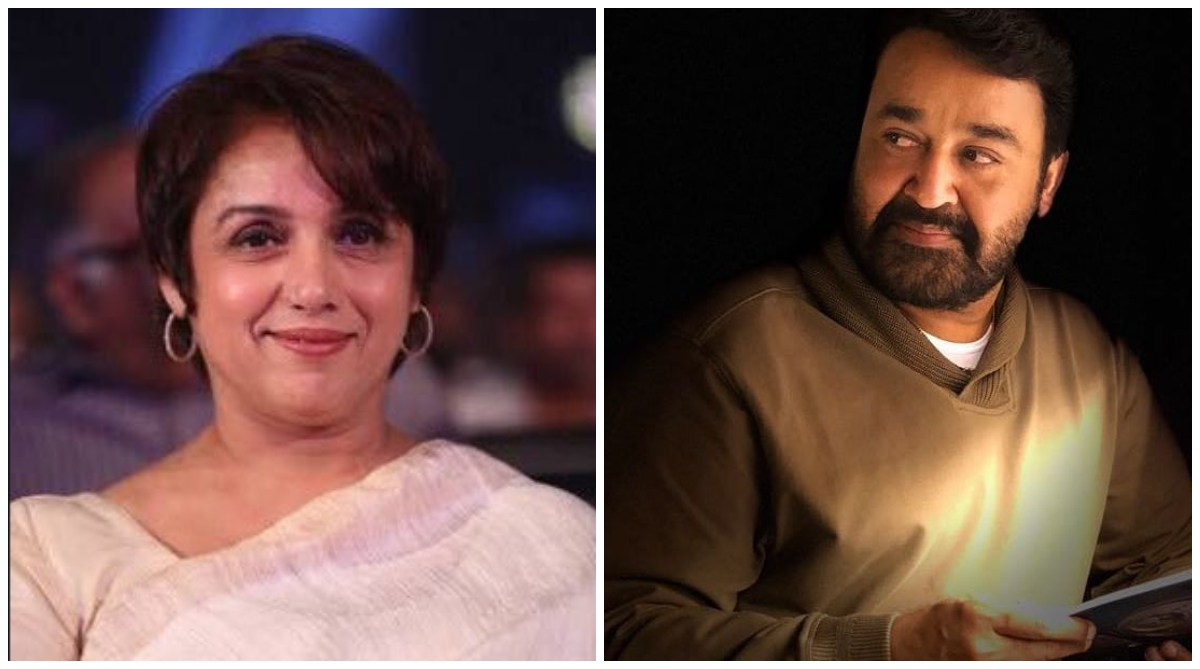 Revathy and Mohanlal