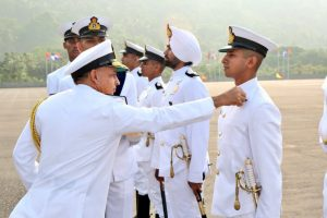 Over 300 Midshipmen, cadets earn 'stripes' at Ezhimala