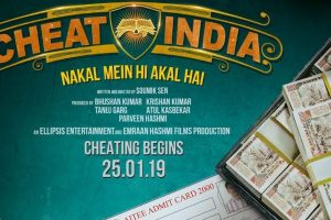 Emraan Hashmi unveils Cheat India teaser