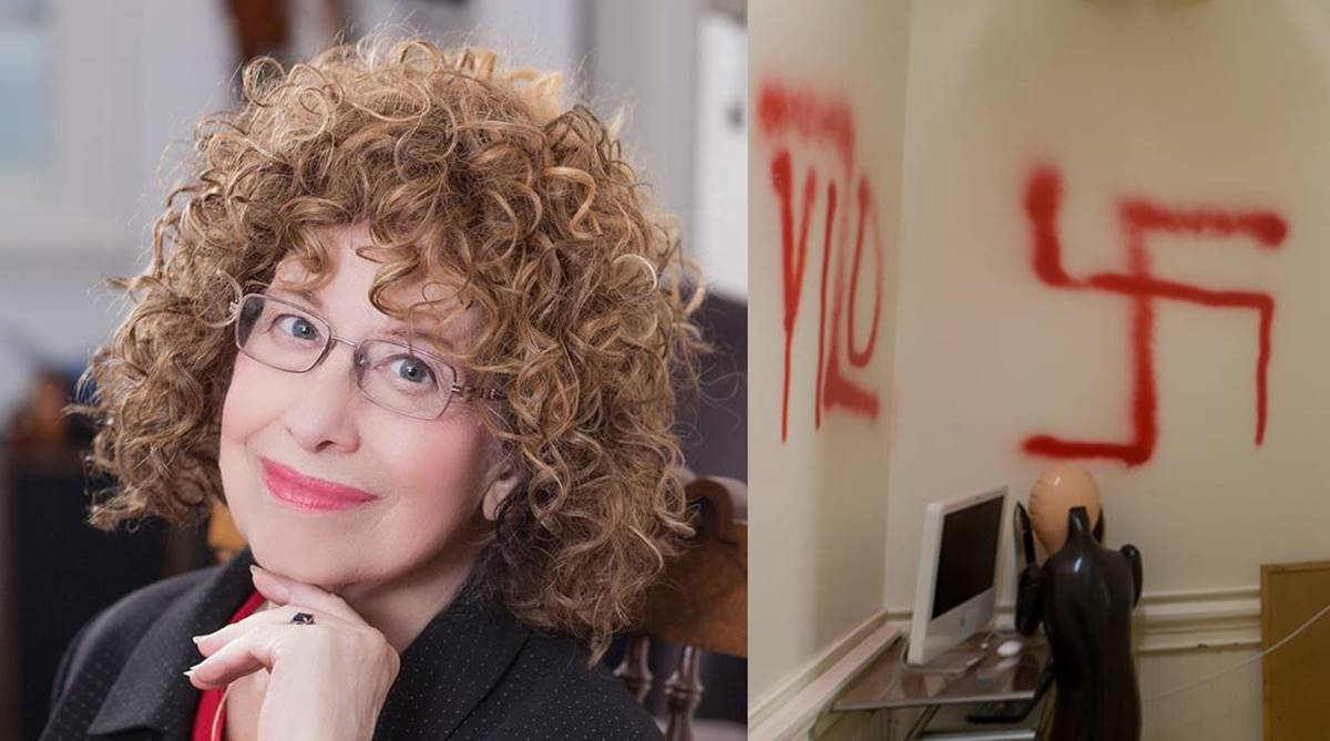 Jewish professor at Columbia University finds her office walls spray-painted with Swastikas
