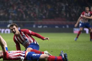 Atletico need VAR and late winner from injured Godin to beat Bilbao