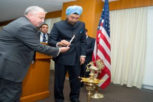 In a first, top Indian, US diplomats celebrate Diwali at State Department