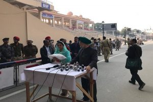 Indian ministers cross over to Pak for Kartarpur corridor ceremony; Pak army chief to be present