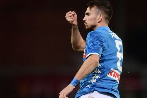 Ruiz and late own goal rescue Napoli in rainy Genoa