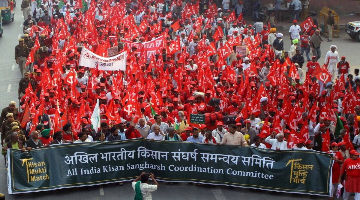 Delhi: Farmers to start march towards Parliament from Ramlila Maidan