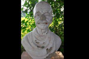 Mahatma Gandhi statue vandalised in Odisha village