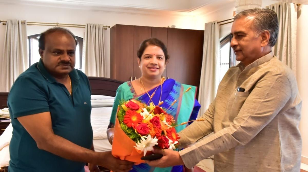 Congress, Grand alliance, BJP, Kumaraswamy