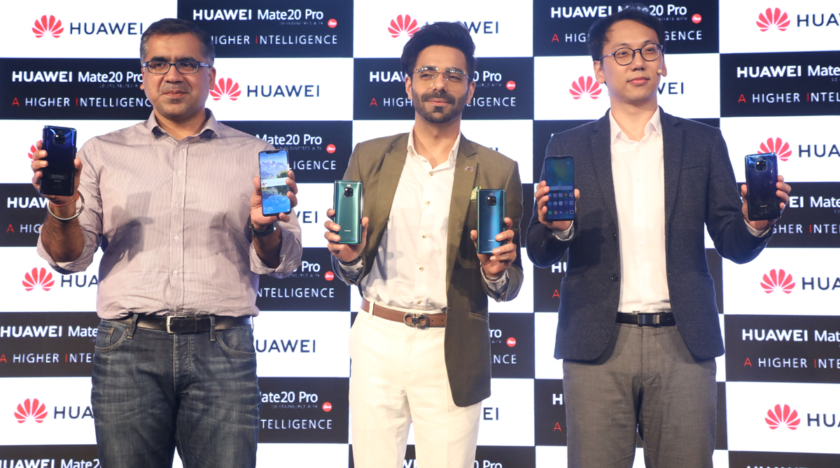 Huawei Mate 20 Pro Launched In India