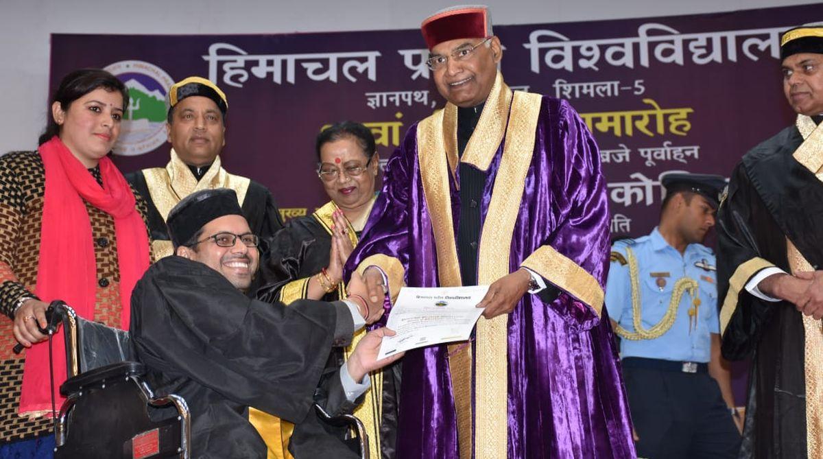 Wheelchair,Himachal Pradesh,Akshay Kumar, HPU campus, Umang Foundation, Ajai Srivastava