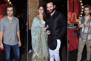 Bollywood celebrities attend Prithvi Theatre's 40th-anniversary celebration