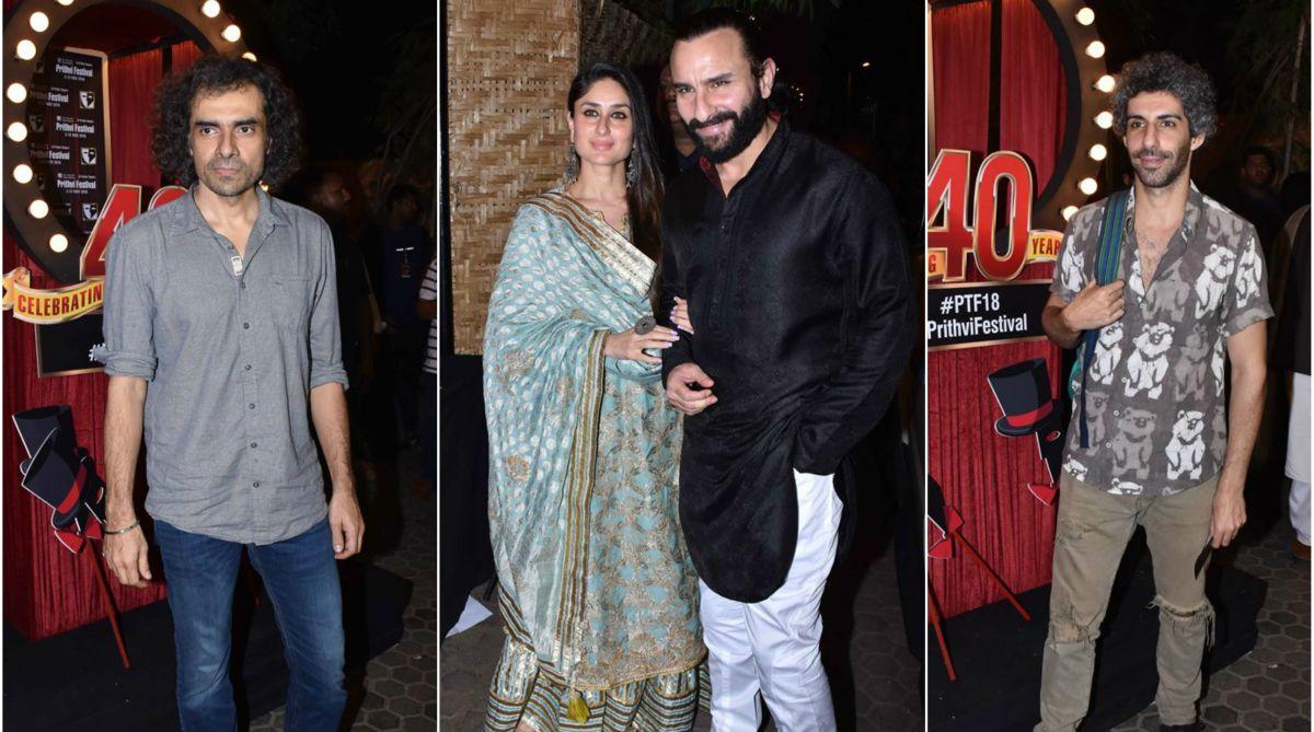 Imtiaz Ali, Kareena Kapoor Khan, Saif Ali Khan, Jim Sarbh, Prithvi Theatre