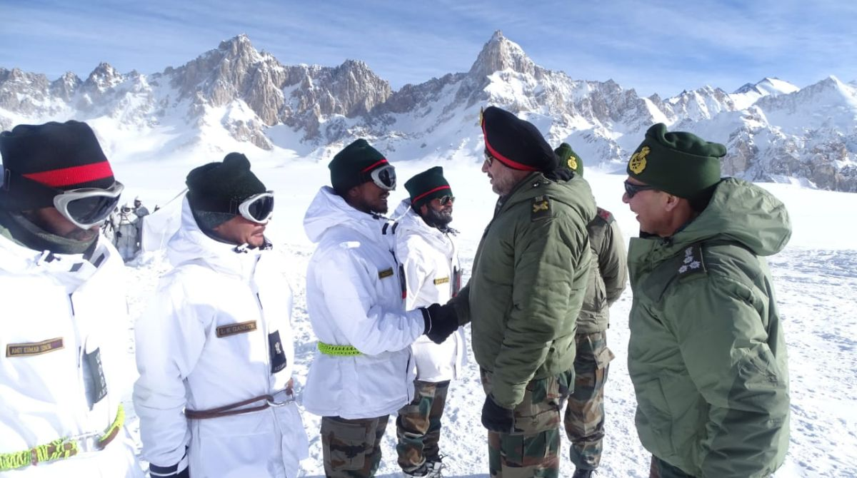 Northern Army Commander, Siachen Glacier, Indian Army,