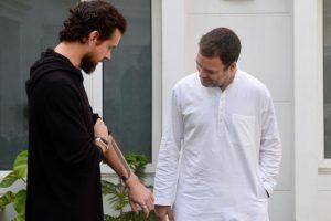 Twitter CEO Jack Dorsey meets Rahul Gandhi, discusses fake news