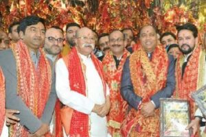Jai Ram announces Rs 50 cr for Mata Chintpurni Dham