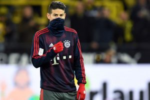 Bayern winger Rodriguez suffers knee ligament injury