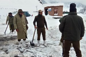 Nearly 1300 stranded people rescued by police in J-K