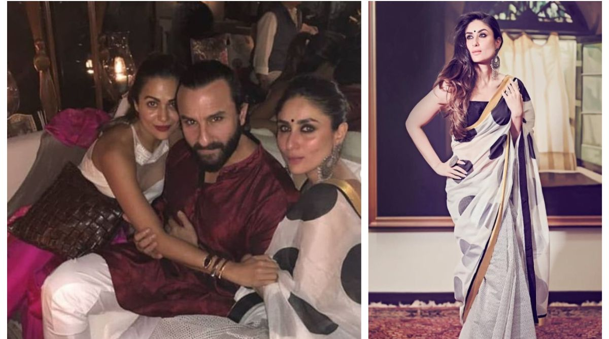 Kareena Kapoor Khan attends Diwali party with Saif Ali Khan, sister Karisma