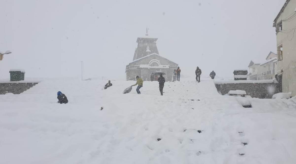 Kedarnath Snow