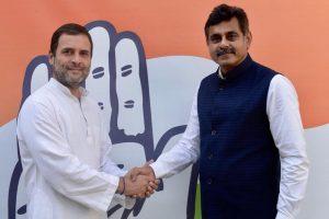 TRS leader K Vishweshwar Reddy quits ahead of Telangana polls, meets Rahul Gandhi