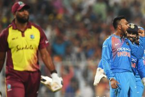 The other Pandya checks in: All-round Krunal stars in India's tricky chase