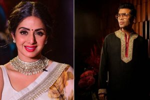 Always wanted to direct Sridevi: Karan Johar