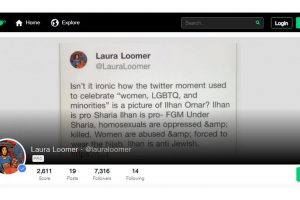 Twitter, Facebook ban far-right activist Laura Loomer for violating rules