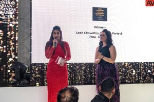 Leah Chowdhry gets Woman of the Year honour at London Asian Business Awards for English Channel swim