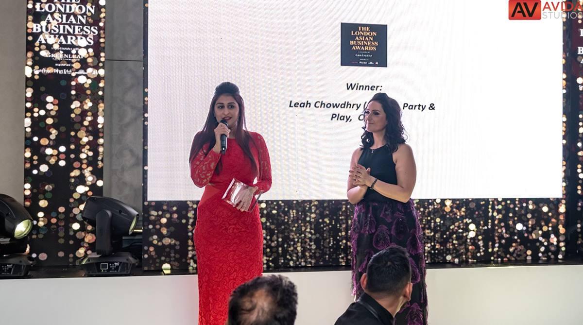 Leah Chowdhry, English Channel swim, London Asian Business Awards, British Asian Trust