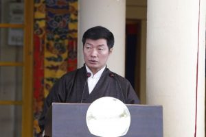 Lobsang Sangay accuses China of spreading rumours about Tibet on social media