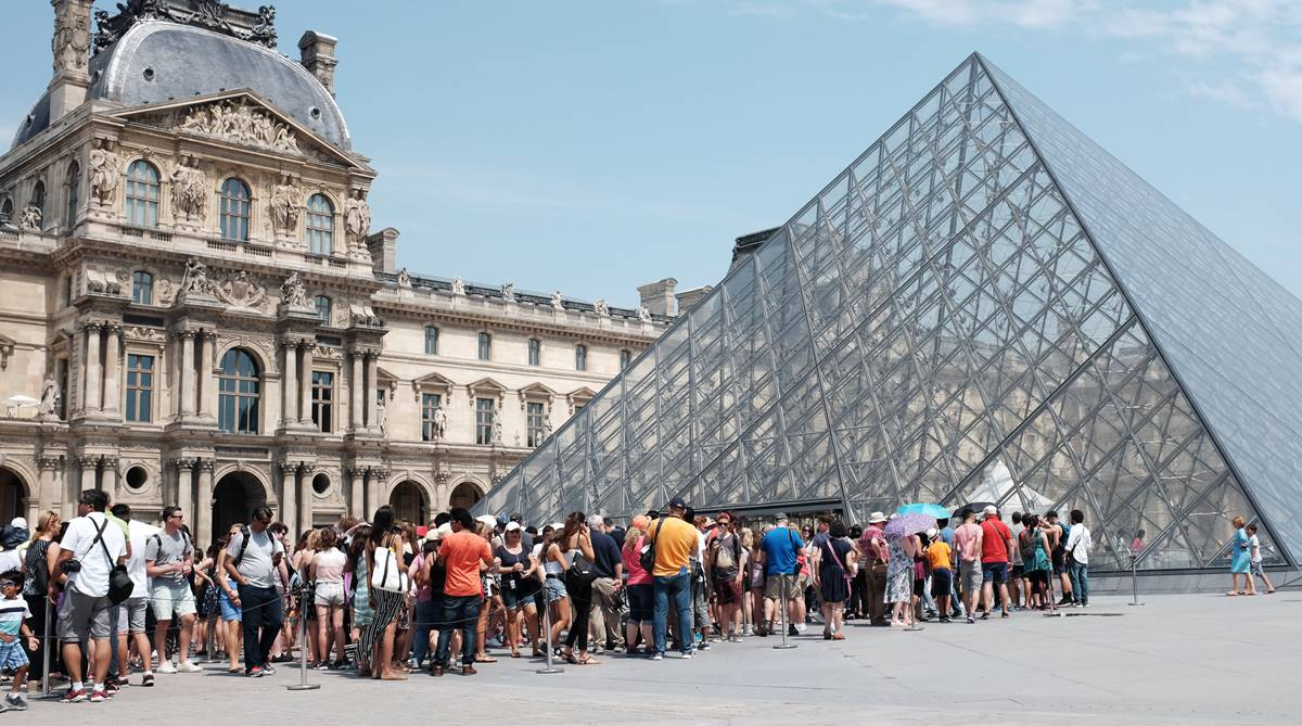 Louvre Museum, Free Saturday nights, Louvre entry fee, Free Louvre entry, Paris Museum, The Mona Lisa