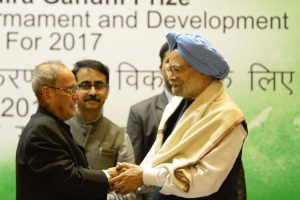 Manmohan cautions against argument that development requires restrictions on freedom