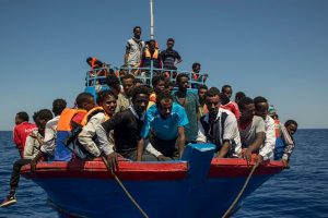 Another 70 migrants picked up by Libyan Coast Guard