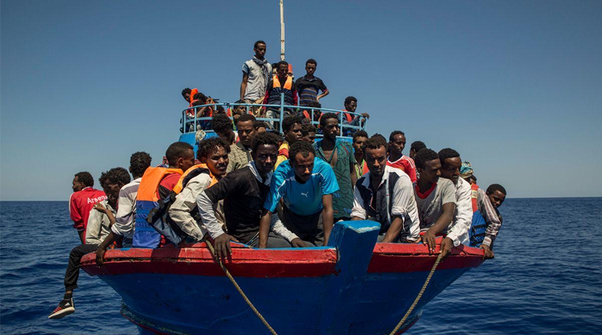 migrants, Italy, human trafficking, Libya, Mediterranean Sea