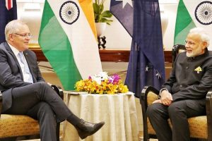 PM Modi meets PMs of Australia, Thailand in Singapore