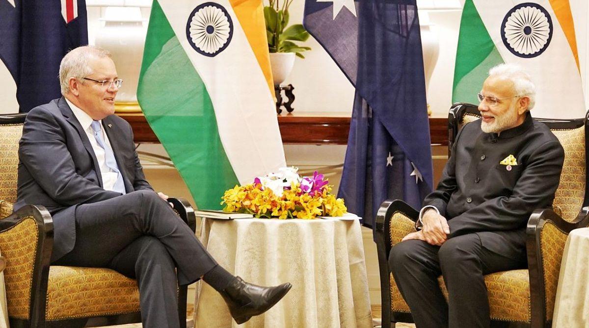 PM Modi meets Australian PM