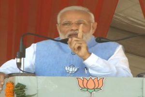 PM Modi blames Congress for delay in Ayodhya verdict