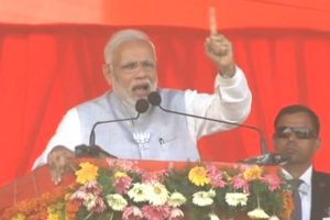 TRS is a xerox copy of the Congress: PM Modi in Telangana