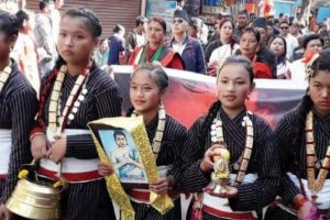 Kurseong: Hill Newars mark their New Year in style