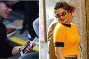 Who is on Nick Jonas phone wallpaper? Priyanka Chopra, of course!
