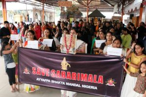 In faraway Nigeria, Malayalees raise pitch against Sabarimala order