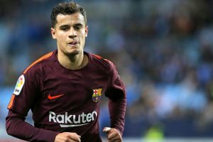 Barça's Coutinho returns to training after thigh injury