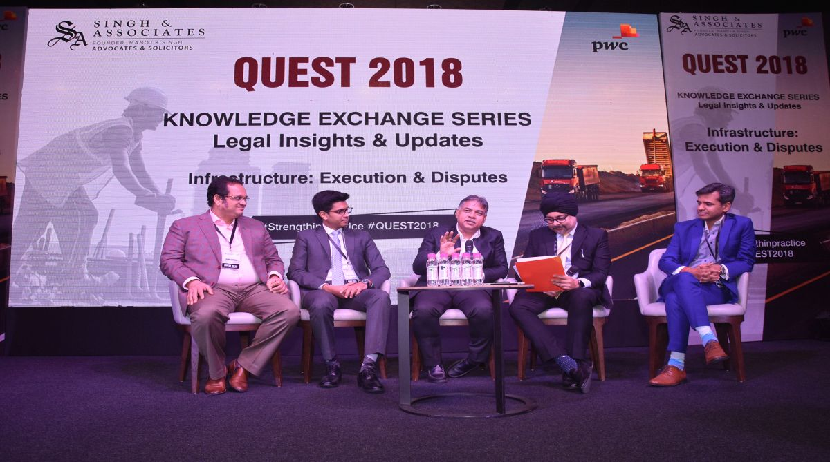 QUEST 2018, infrastructure sector, Singh & Associates, PricewaterhouseCoopers, infrastructure experts