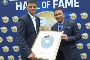 Watch | Rahul Dravid becomes fifth Indian to be inducted into ICC Hall of Fame