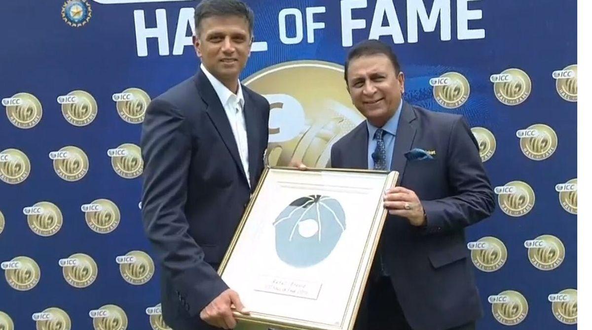 Rahul Dravid, Sunil Gavaskar