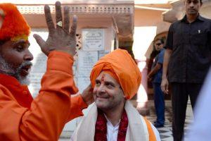 Rahul Gandhi tells Pushkar priests he is Kaul Brahmin of Dattatreya gotra