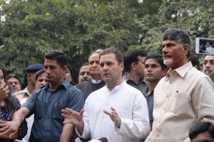 Telangana: Rahul Gandhi, Chandrababu Naidu to participate in election rally