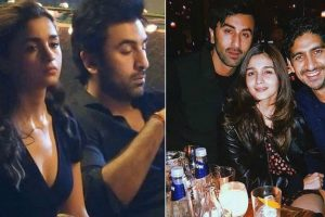 Ranbir Kapoor and Alia Bhatt photos from the sets of Brahmastra are going viral
